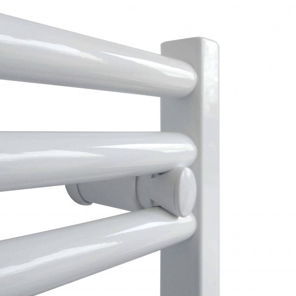 White Heated Towel Rail Straight & Curved Central Heating Bathroom Radiator