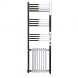 The Duke Traditional Victorian Hybrid Radiator And Towel Rail Electric Ptc Dual Fuel