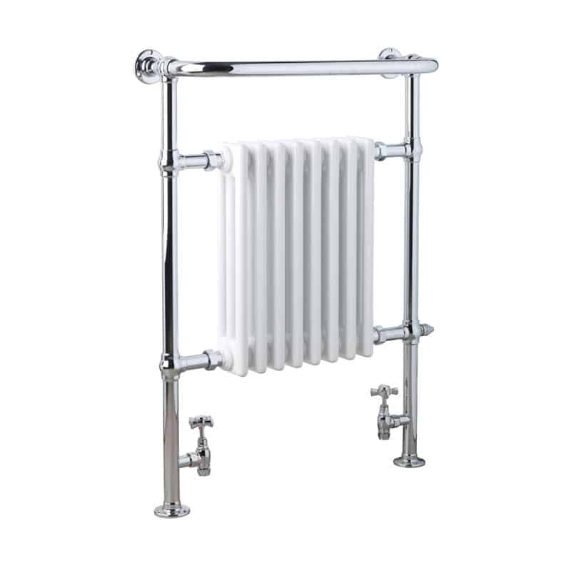 Heated Towel Rail Replace Radiator: *Clearance* Ramsey Traditional Victorian Dual Fuel
