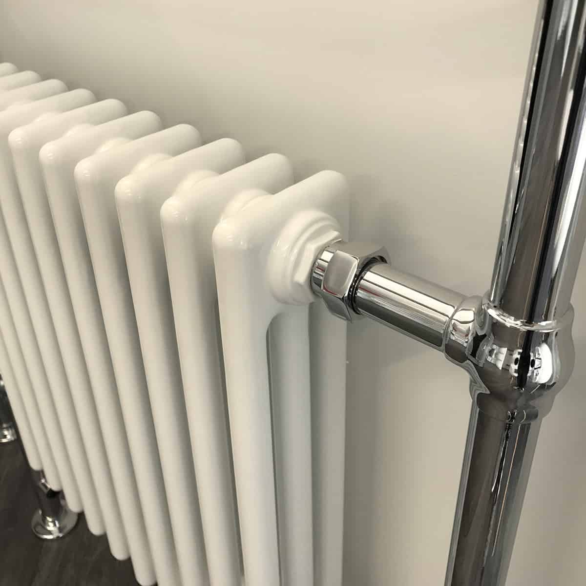 ramsey traditional victorian heated towel rail column. Black Bedroom Furniture Sets. Home Design Ideas