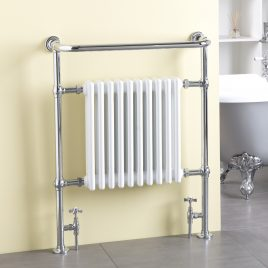 Traditional Victorian Thermostatic Dual Fuel Electric Radiator With Wireless Timer The Ramsey
