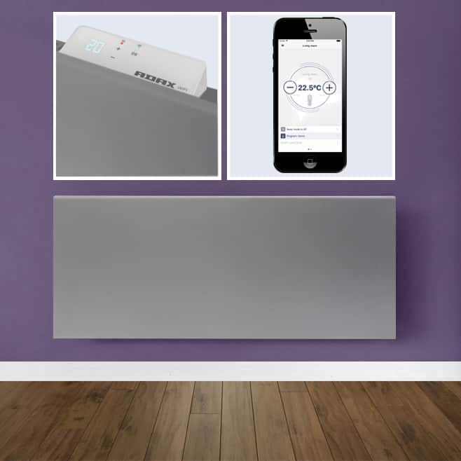 Adax Neo Wifi Modern Electric Wall Heater Home Automation