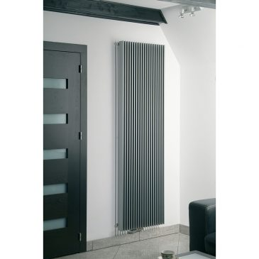 DEENE Side Flat Panel Modern Vertical Radiator, Anthracite - Central Heating