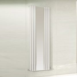 Guthrie Mirror Vertical Designer Wall Mounted Radiator Central Heating