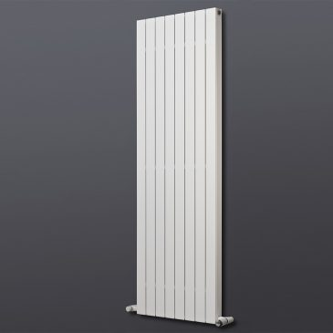 HAILWOOD DELUXE Double Flat Panel Modern Vertical Radiator, Tall – Central Heating