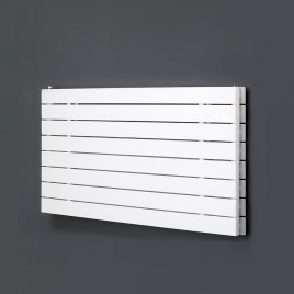 HAILWOOD Double Flat Panel Modern Horiztontal Radiator, Wide – Central Heating