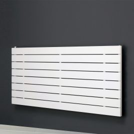 HAILWOOD DELUXE Single Flat Panel Modern Horizontal Radiator, Wide – Central Heating