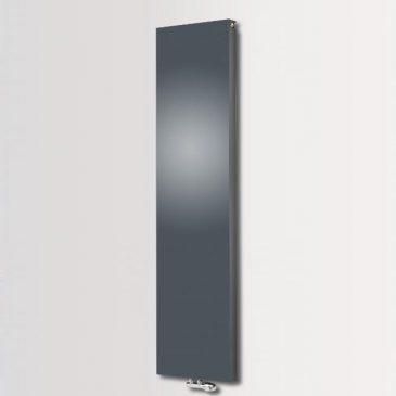 HAILWOOD SOLID DUO Double Flat Panel Modern Vertical Radiator, Tall – Central Heating
