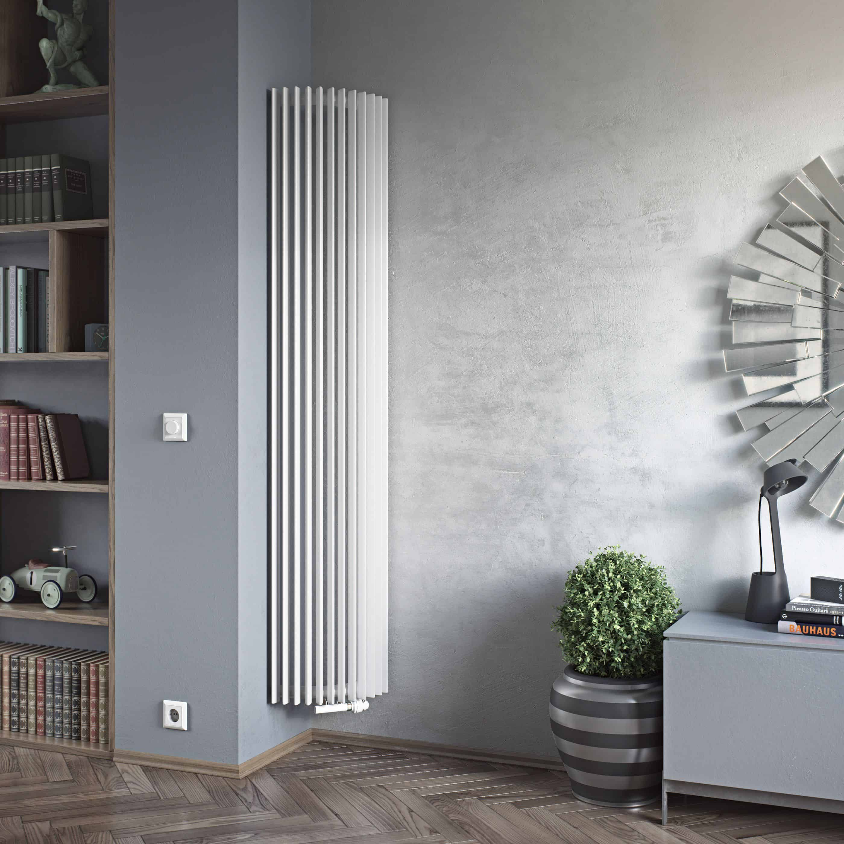 Buy designer radiators online from solaire uk for Household radiator design