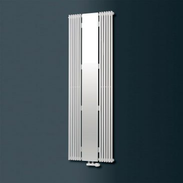 VALLEY MIRROR 2 Radiator, Triangle Tube, Modern, Vertical , Tall – Central Heating