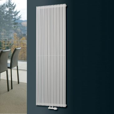 VALLEY SINGLE Triangle Tube Modern Vertical Designer Radiator, Tall – Central Heating