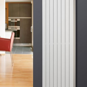 HAILWOOD DELUXE Single Flat Panel Modern Vertical Radiator, Tall – Central Heating
