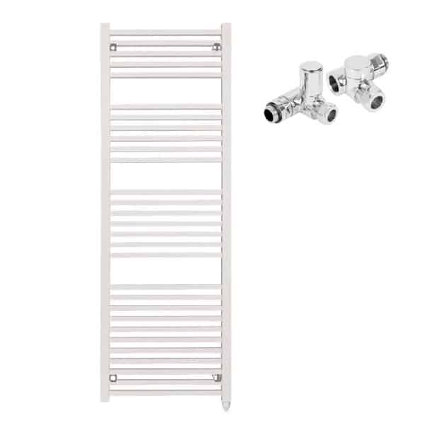 Laurel Square Tube Modern Heated Towel Rail Warmer