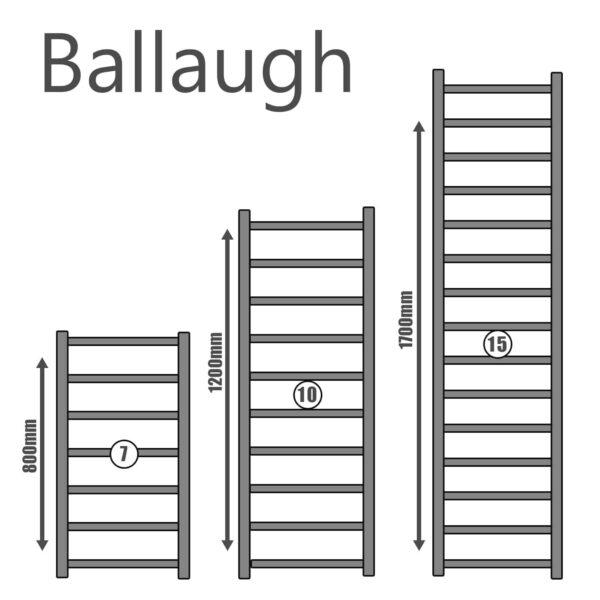 The Ballaugh Heated Towel Rail Electric Ptc
