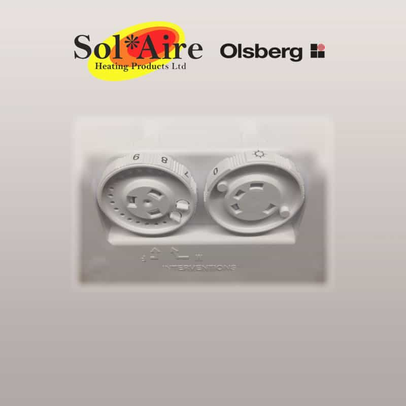 Olsberg Corona Electric Wall Heater Convector Radiator