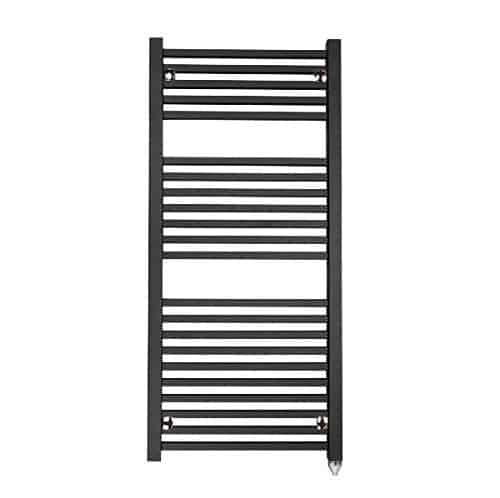 LAUREL Square Tube Modern Heated Towel Rail / Warmer, Black – Central  Heating