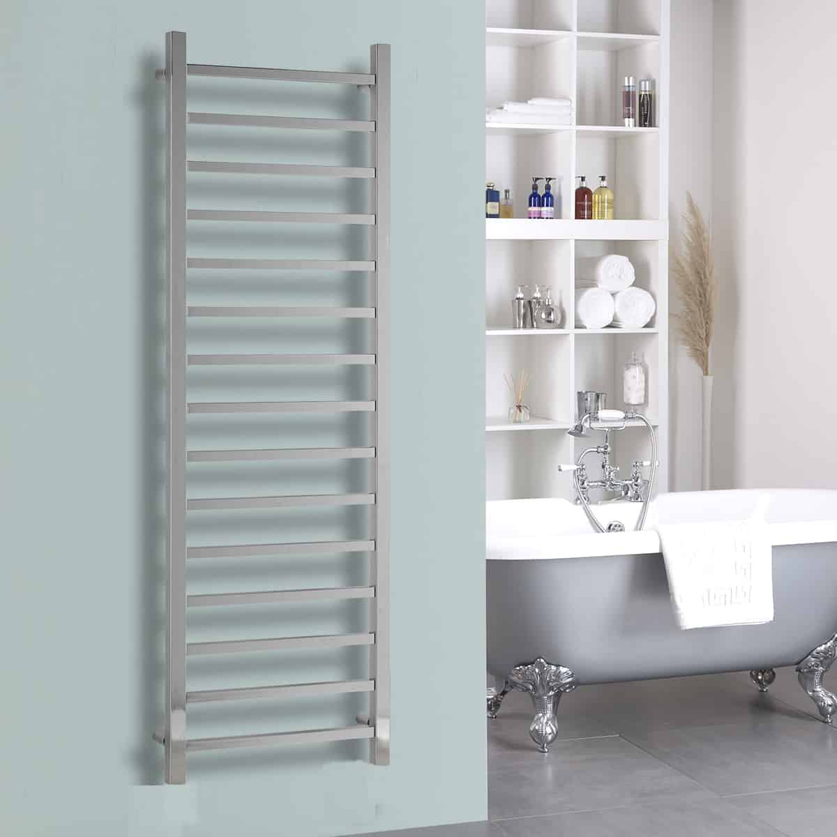 The Ballaugh Heated Towel Rail Electric Ptc With Wireless Timer