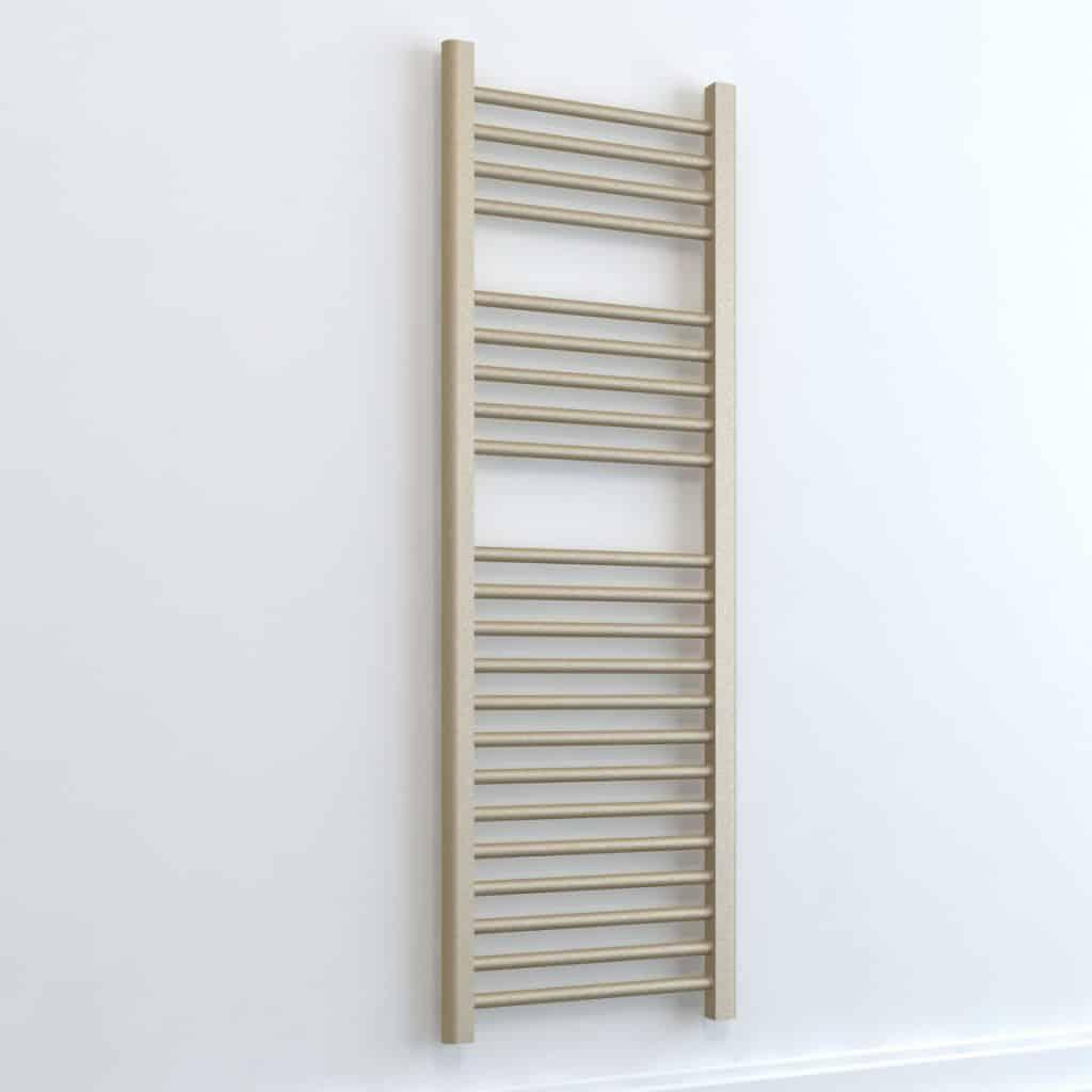 Bray elements straight heated towel rail warmer - Electric bathroom radiators with timer ...