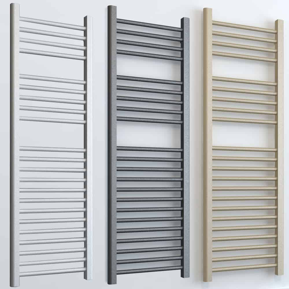 Bray ELEMENTS Electric Towel Rail Central Heating White/LAVA/BEACH