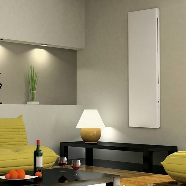 DEKO Vertical Modern Electric Wall Heater / Splash Proof Infrared Convector Radiator, Wall Mounted 5