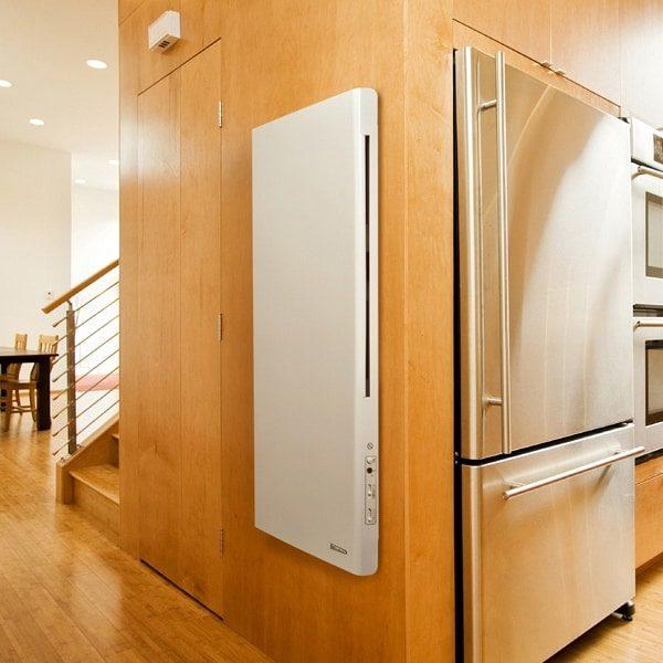 DEKO Vertical Modern Electric Wall Heater / Splash Proof Infrared Convector Radiator, Wall Mounted 4