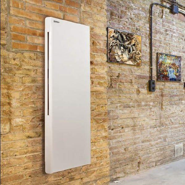 DEKO Vertical Modern Electric Radiator / Convector Panel Heater. Splash Proof, Infrared, Wall Mounted