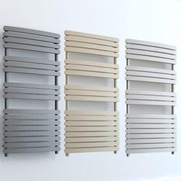 Greeba ELEMENTS Electric Flat Towel Rail White/LAVA/BEACH