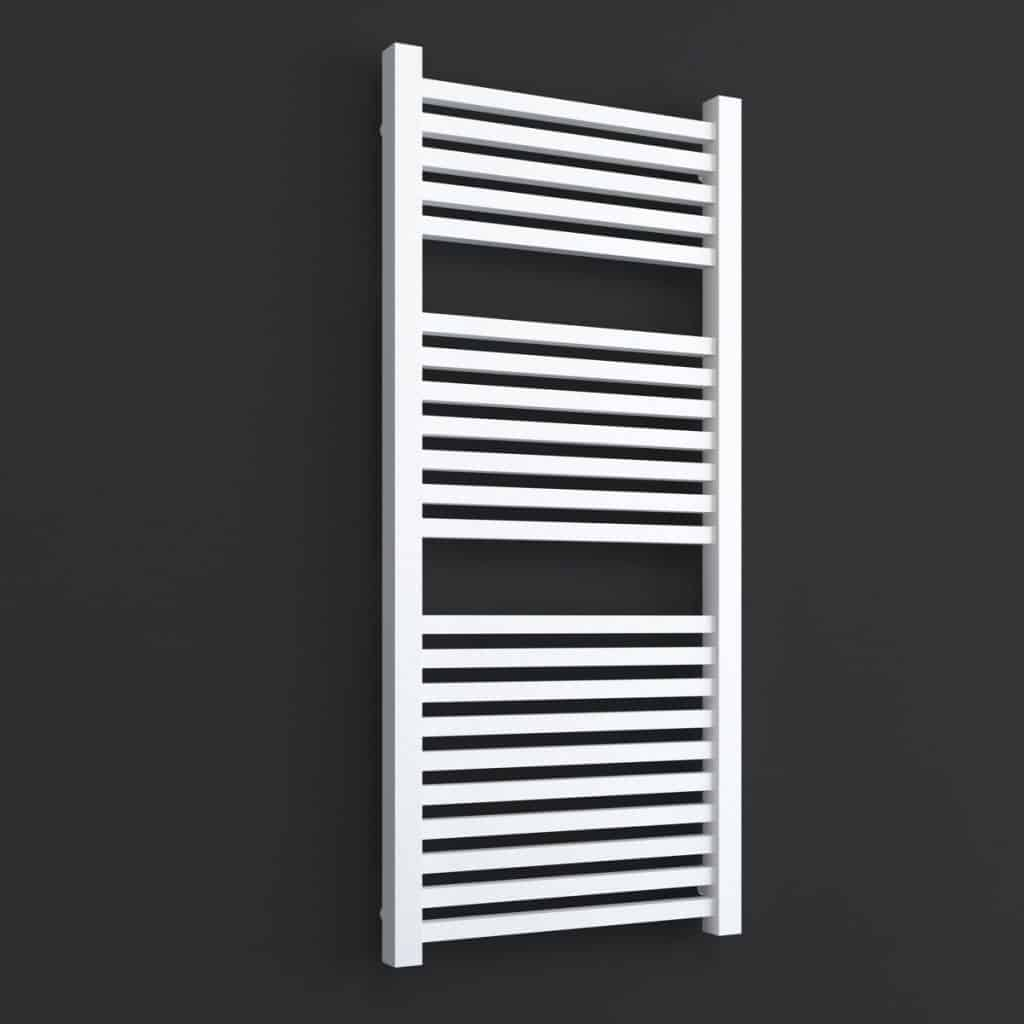 Laurel Elements Square Tube Heated Towel Rail Warmer Electric Thermostat Timer