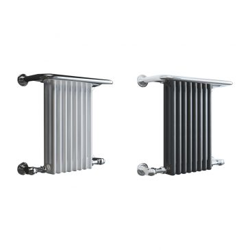 PARLIAMENT ELEMENTS – Traditional Victorian Heated Towel Rail – Central Heating