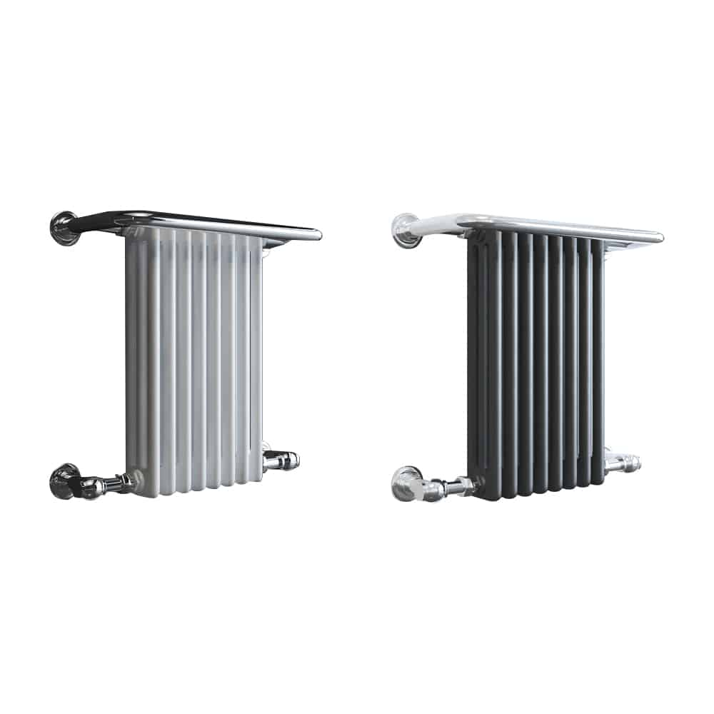Small Victorian Towel Rail: Traditional Victorian Heated Towel
