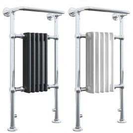 RAMSEY ELEMENTS Traditional Victorian Heated Towel Rail / Column Radiator – Central Heating