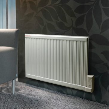 ADAX APO Oil-Filled Electric Radiator / Radiant Wall Mounted Heater + Thermostat