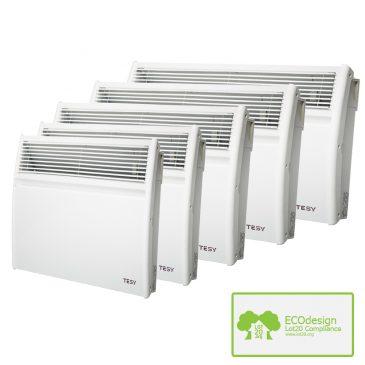 Splash Proof Electric Panel Heaters For Bathroom Kitchen