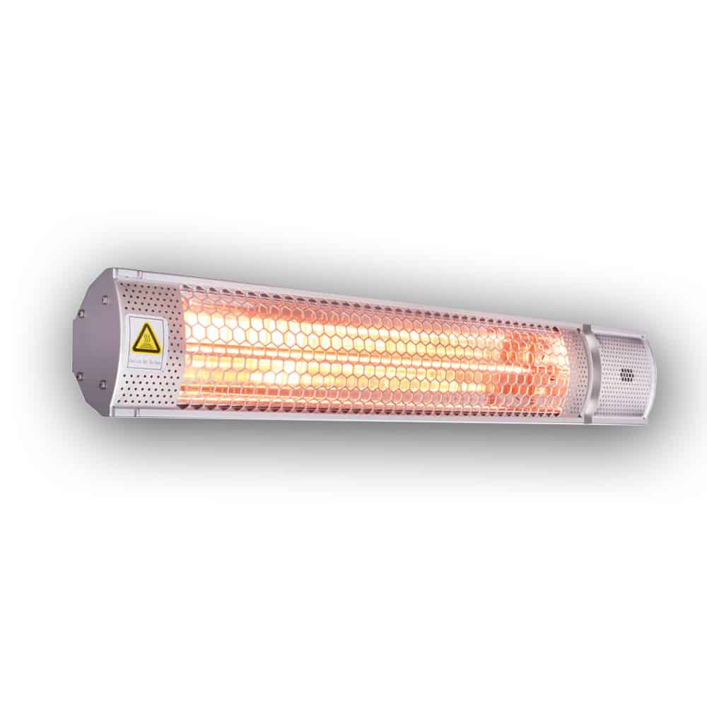 Infrared Heater Outdoor Indoor Electric Patio Heater With Remote 2kw