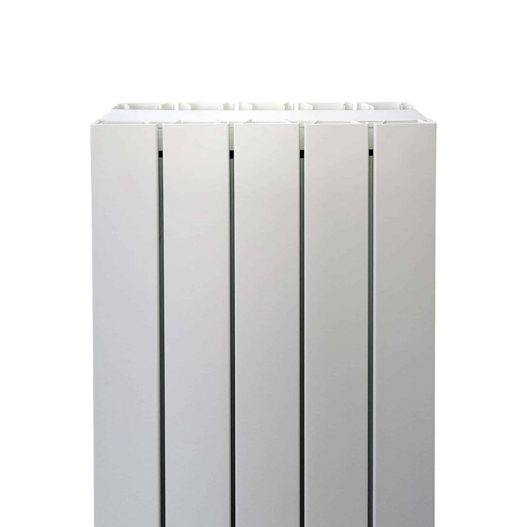 Aluminium Double Flat Panel Designer Vertical Radiator