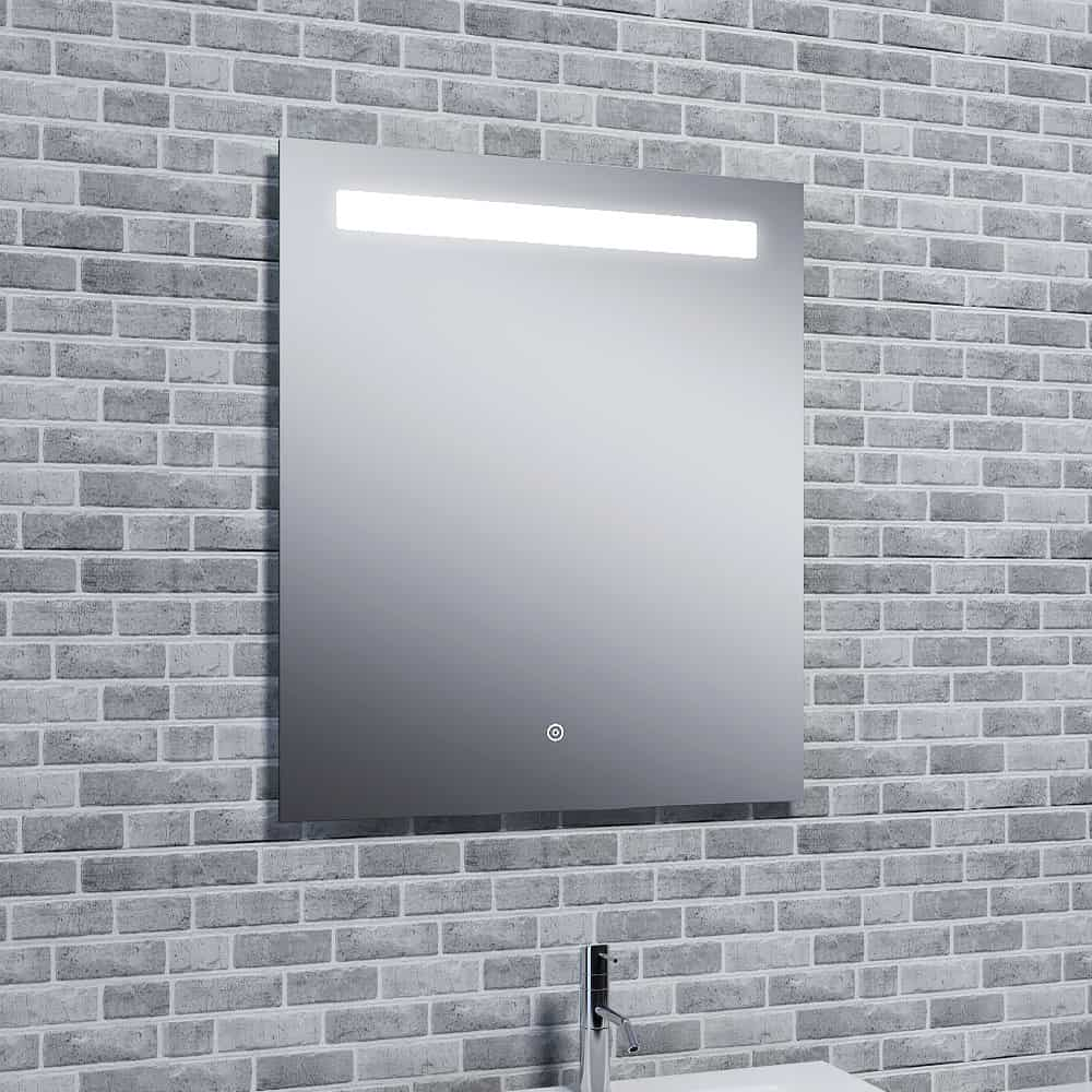 Reflections Islay, Modern Illuminated Bathroom LED Mirror / Touch Sensor and Demister