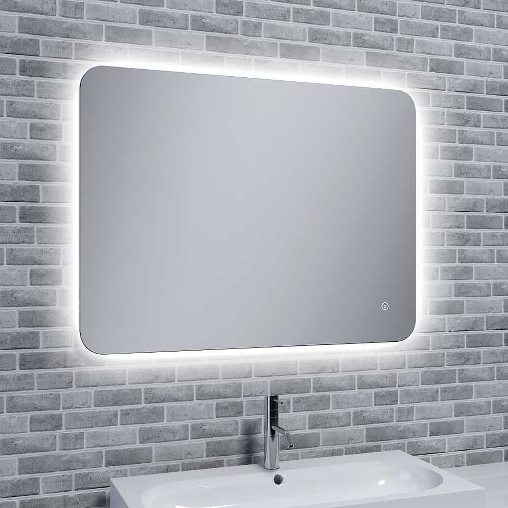 Reflections Rona Slim, Illuminated LED Mirror With Mood Light with Demister