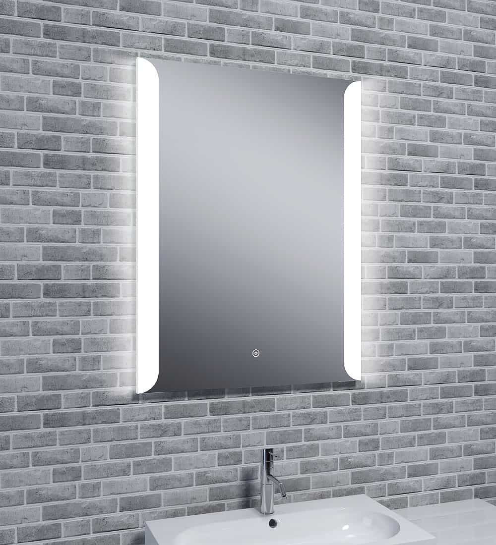 Reflections SKYE Audio, Stylish Illuminated LED Wall Mirror / Touch Sensor, Speaker and Demister