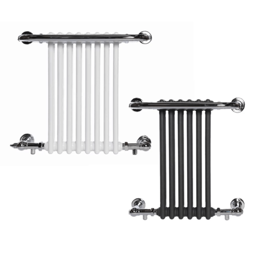 PARLIAMENT ELEMENTS - Traditional Victorian Heated Towel Rail / Radiator - Electric