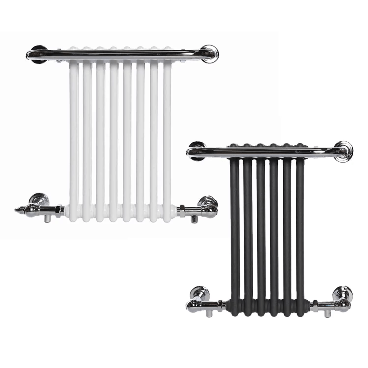 PARLIAMENT ELEMENTS – Traditional Victorian Heated Towel Rail / Radiator – Electric
