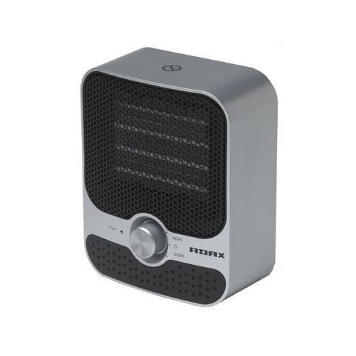 ADAX VV23 Portable Electric Fan Heater, Ceramic PTC, Compact / Small