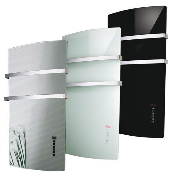 Radialight Deva Infrared Electric Bathroom Heater + Heated Towel Rail