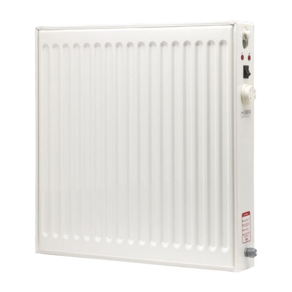 HÜBER Energy Efficient Oil Filled Electric Radiator, Wall Mounted Lot 20 Compliant Heater