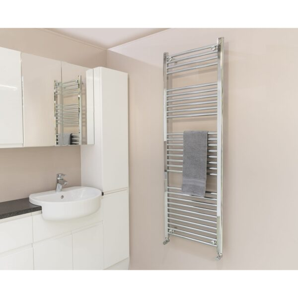 SALE: Qual-Rad Heated Towel Rail / Warmer / Radiator - Central Heating