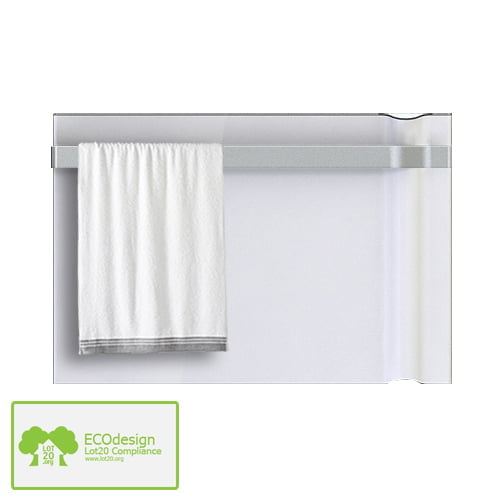 Radialight Klima Radiant Heater Electric Wall Mounted Panel Radiator Bathroom Safe With Towel Rail Adax By Solaire Heating Products