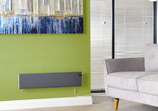 ADAX NEO Modern Electric Skirting Wall Heater / Convector Radiator, Flat Panel