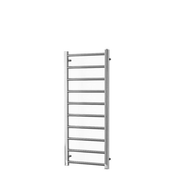 ALPINE Modern Heated Towel Rail / Warmer / Radiator, Chrome - Central Heating - 1200