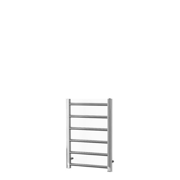 ALPINE Modern Heated Towel Rail / Warmer / Radiator, Chrome - Central Heating - 800