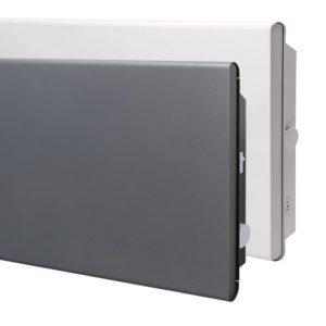 ADAX ECO WHITE GREY Electric Panel Heater / Convector Radiator, Wall Mounted, Splashproof (IP24)